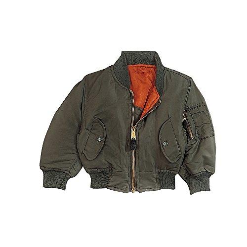 Rothco Kids Ma-1 Flight Jacket-Sage, Medium by Rothco