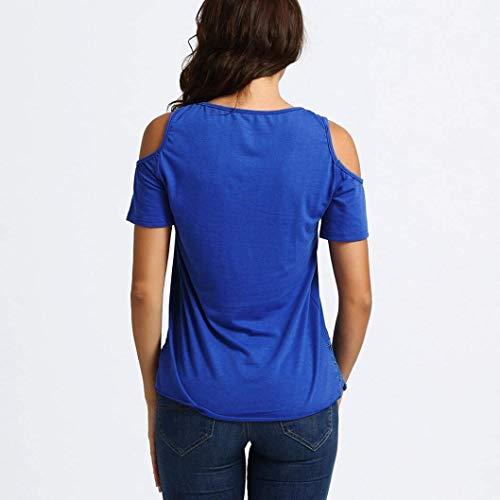 Col Mode Chic Uni Plier T Courtes Tshirt pissure Manches Femme Manche Dentelle Nues Elgante Qualit Shirts Et Creux paules Beige Tops De Casual Shirt Rond Haute UWf0wA7q