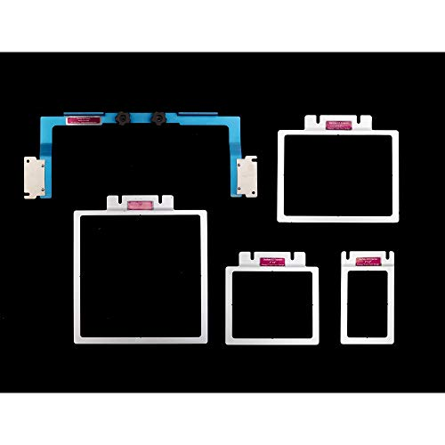 (Durkee Embroidery EZ Frames Kick Start Frame Combo for Brother PR 6 and 10 Needle Machines)