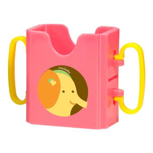 Innobaby Packin' SMART Keepaa Juice Box Holder, Strawberry