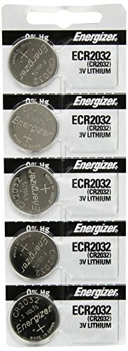 Lithium Battery Shelf Life - Energizer 2032 Battery CR2032 Lithium 3v (1 Pack of 5)