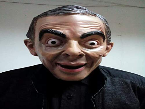 World Cup Mask Masquerade Simulation Celebrity Mask Halloween Horror Mask]()