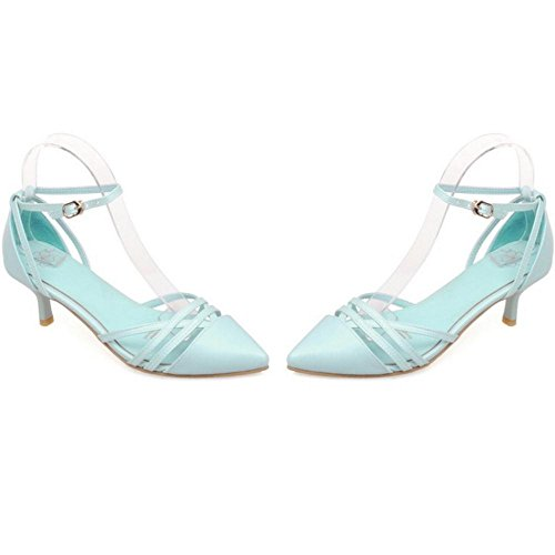 Coolcept Mujer Puntiagudo Bombas Zapatos Blue