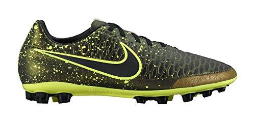 Nike Herren Magista Onda AG-r Fußballschuhe Schwarz / Gelb (Dark Citron / Drk Citron-Blk-VLT)