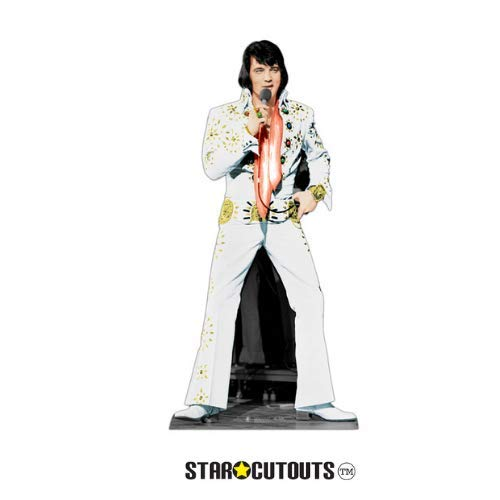 (Star Cutouts SC573 Official Lifesize Cardboard Cut Out of Elvis)