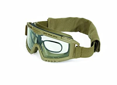 UVEX by Honeywell S0760D XMF Tactical Goggle, Desert Tan