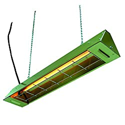 TPI FFH512A FFH Series Electric Utility Infrared Heater, 550W, 5 Amps