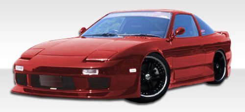 1989-1994 Nissan 240sx 2DR Duraflex GP-2 Kit - Includes GP-2 Front Bumper (104256), GP-1 Rear Bumper (100850), and GP-2 Sideskirts (104257). - Duraflex Body ()