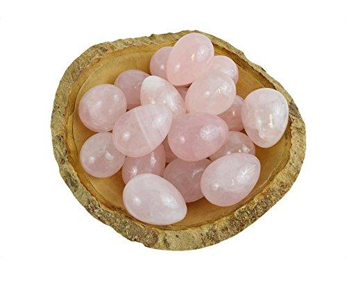Rose Quartz Yoni Eggs   GIA Certified   Jade Eggs   Vaginal Weight   Kegel Eggs   Kegel Weight   Vaginal Stone   Crystal Egg   Jade Yoni Egg (Medium)