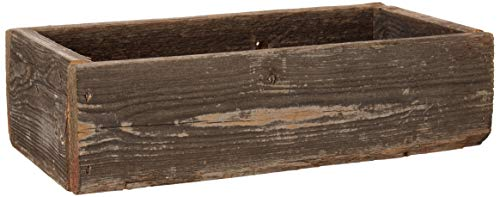 Gift Crate - Barnwood Decorative Rustic Display Box made from 100% Authentic Reclaimed Wood