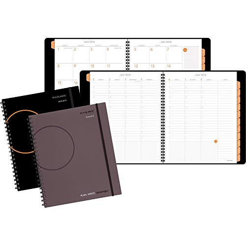 At-A-Glance,Appointment Books,Dated Goods,Plan Write Remember Academic Weekly Monthly Planner,Hourly,Wirebound,Bungee,Tabbed,2PPW,Ruled Daily