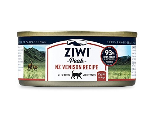 Ziwi Peak Canned Venison Recipe Cat Food (Case of 24, 3 oz. - Cat Canned Food Venison
