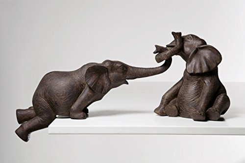 Kare Figurine Elephant Circus Decoration, Set of 2