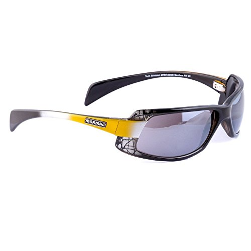 New MORMAII Gamboa Ro GII Mens Sports Eyewear Sunglasses Black / Yellow - Sunglasses Mormaii