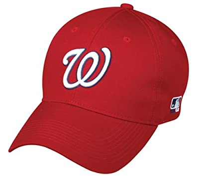 Washington Nationals YOUTH Cap Adjustable Replica MLB Official Little League Baseball/Softball Replica Hat from OC Sports Outdoor Company