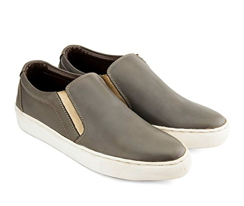 Hommes Gekko Gris Lacent Derbies 40
