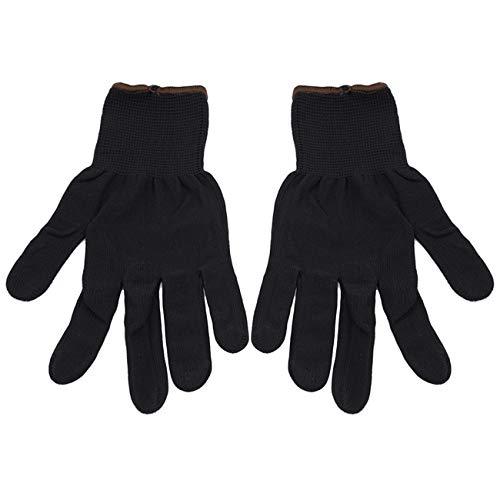 (Bigsweety Vinyl Application Cotton Gloves Vinyl Wrap Application Gloves Car Auto Vinyl Wrap Sticker Decals Mitts (Black))