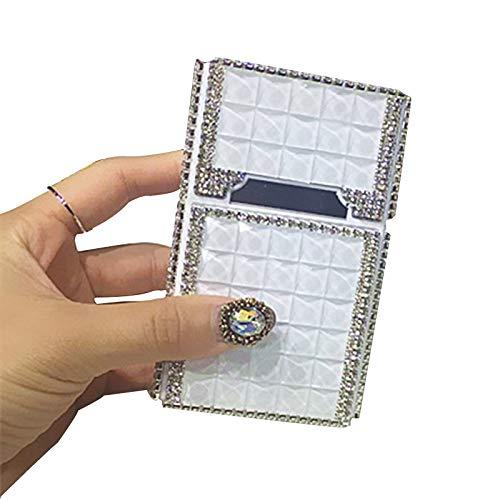 Ame 20 De Cargador Cigarrillos Incrustaciones Completa i Caja Creativa Con 3 6 Encendedor Diamantes D Usb 10 Magnéticos Cigarrillos 2cm rqr5x7