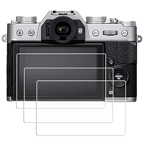 14-3 Glass Screen Protector Foils Compatible for Sony Alpha a6500 / a6400 Touchscreen (14 Foil)