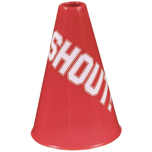 (Amscan Megaphone, Party Accessory, Red)