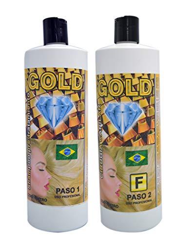 CIRUGIA CAPILAR GOLD DIAMOND BRAZILIAN 32 ONZAS + SHAMPOO Surgery Natural Fast Shipping
