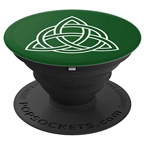 Celtic Triquetra Trinity Knot Design - PopSockets Grip and Stand for Phones and Tablets ()