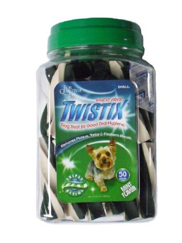 Twistix Vanilla Mint Flavor Dental Chews For Dogs – Small 50 pack, My Pet Supplies