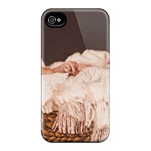 Awesome Case Cover/iphone 4/4s Defender Case Cover(little Boy Basket)