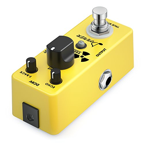 donner yellow fall vintage pure analog delay guitar effect pedal true bypass buy online in uae. Black Bedroom Furniture Sets. Home Design Ideas