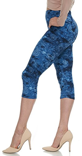 Lush Moda Extra Soft Leggings with Designs- Variety of Prints - 85C