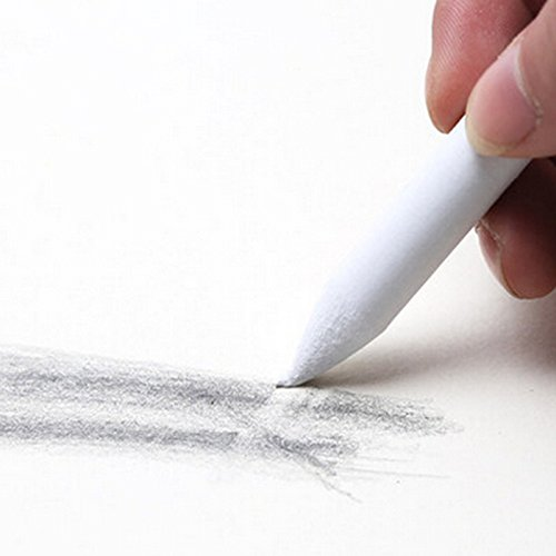 LANSEYQO 6 St/ücke Papierwischer Bleistife Schleifpapier Mischen Stump Zeichnung Stifte