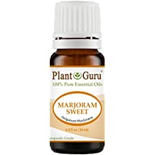 Marjoram Sweet Essential Oil 10 ml. 100% Pure Undiluted Therapeutic Grade.