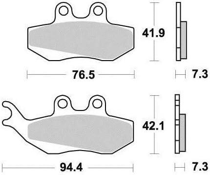 Kyoto AV Plaquettes de frein pour BETA RR 50 ENDURO FACTORY 2012-2015