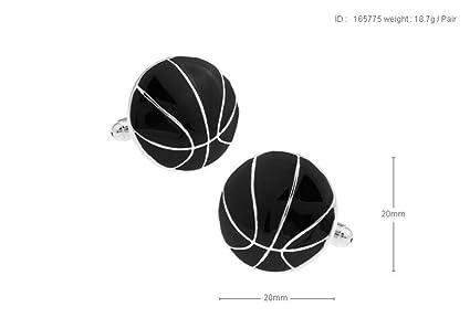 ESCYQ Gemelos,Gemelos Unisex Baloncesto Moda Negro Simple ...
