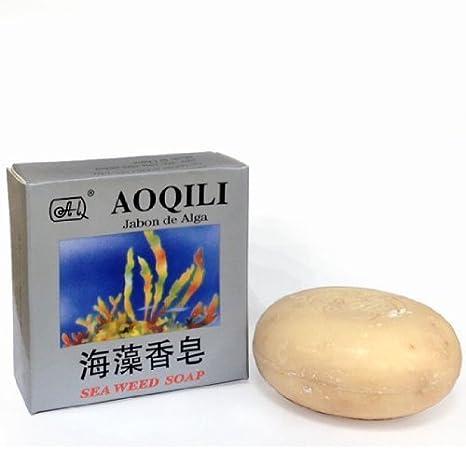 Amazon.com : AOQILI Seaweed Defat SOAP ~ 10 bars Promotion Package ...
