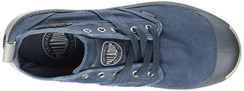 Palladium Pallaville Hi Cvs, Botines para Hombre Gris - Grey (Blue)