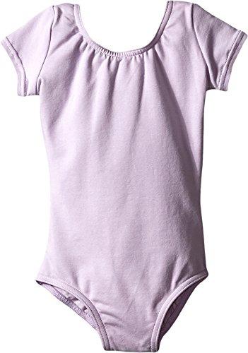 Capezio Classics Children's Short Sleeve Leotard,  Lavender (Toddler, CC400C) - Capezio Short Sleeve Leotard