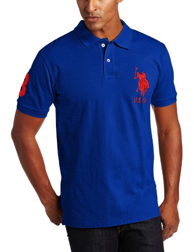 U.S. Polo Assn. Men's Solid with Big Pony