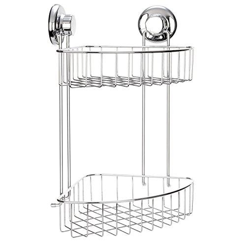 corner shower caddy plastic - 7