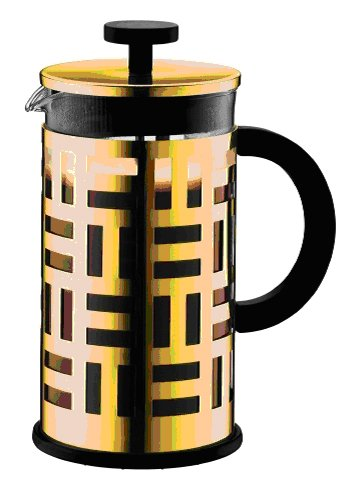 Bodum Eileen French Press Coffee Maker, 34-Ounce, Gold Chrome by Bodum