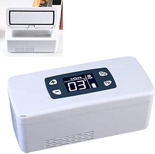 NO BRAND Mini portátil de la hormona del congelador, refrigerador ...