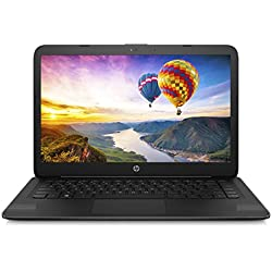 """2018 HP 14"""" Flagship Laptop with 3x Faster WiFi - Intel Dual Core up to 2.48GHz, 4GB RAM, 32GB eMMC, free 1-yr Office 365, 1TB OneDrive Cloud, DTS Studio, HDMI, Webcam, USB 3.1, Win 10"""