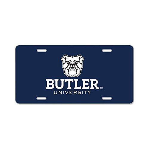 CafePress - Butler University Bulldog - Aluminum License Plate, Front License Plate, Vanity Tag