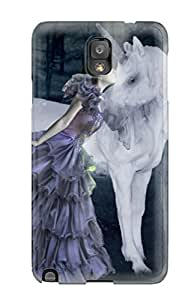 Iphone 6 Plus Hard Back With Bumper Silicone Gel Tpu Case Cover Unicorn Horse Magical Animal