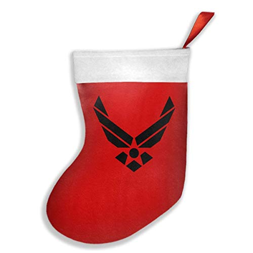 Bag Air Force Crew - LoveBea US Air Force USAF Chrismas Stockings,Christmas Decoration 16.5x10.2 Inches