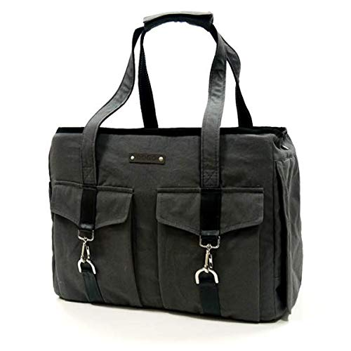 - Dogo Buckle Tote - Charcoal