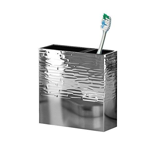 nu steel MET4H Metropolitan Tooth Brush Holder
