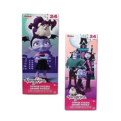 Cardinals Vampirina 2-(24) Piece Tower Puzzle Gift Set: Toys & Games