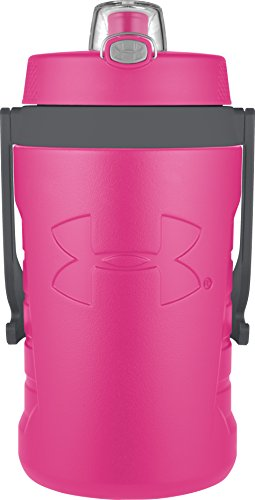 Under Armour Sideline 64 Ounce Water Jug, Rebel Pink