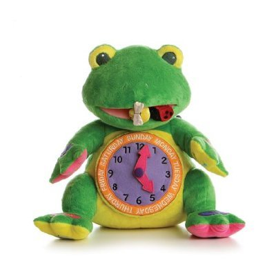 (Aurora Plush 14 inches  Learn With Me Activity Frog)